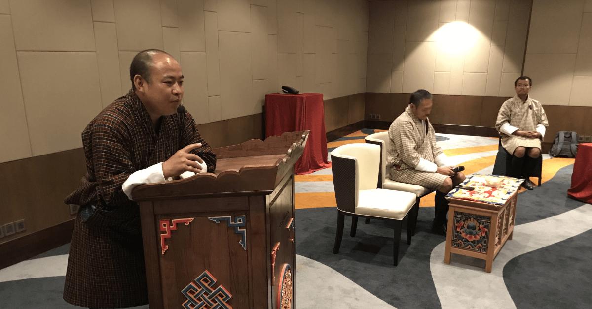 Workshop: Bhutan's Gross National Happiness