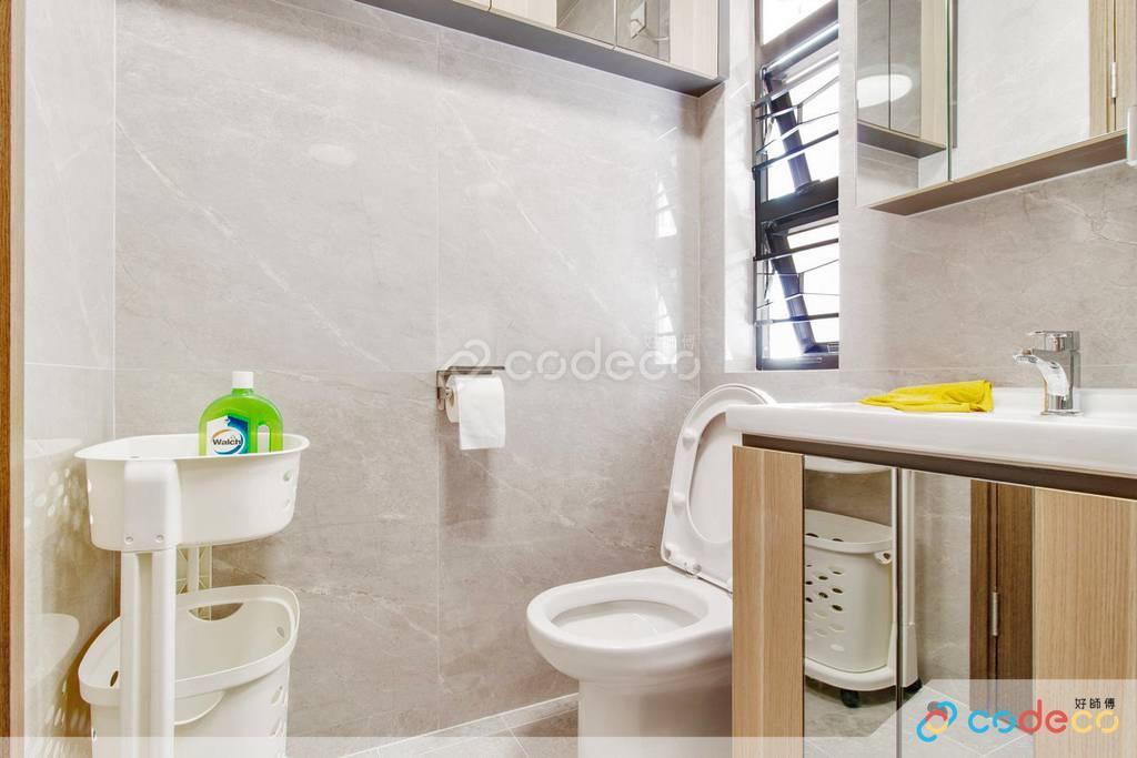 荃灣綠楊新邨廁所裝修