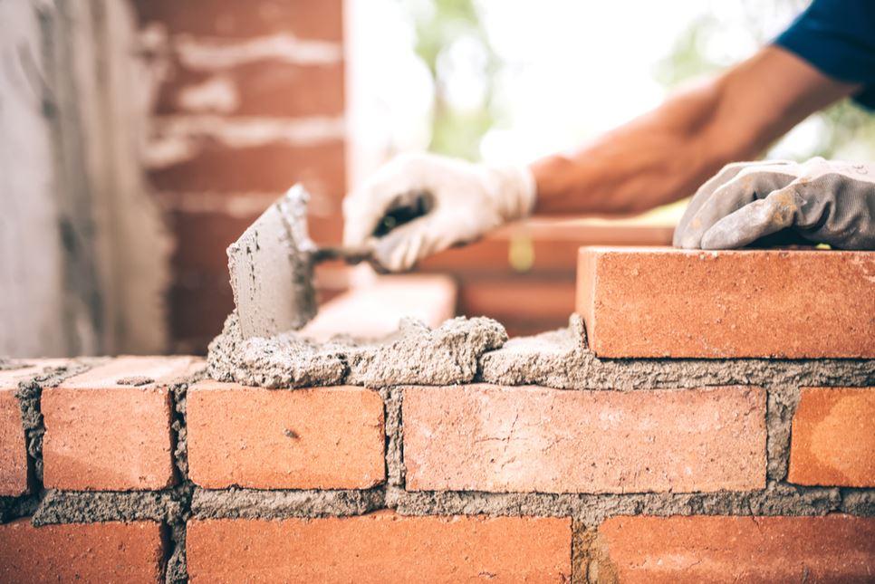 紅磚砌牆施工