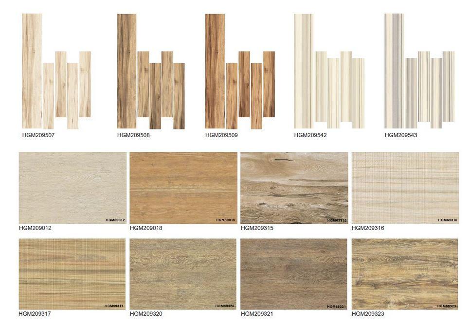 不同款式木紋磚