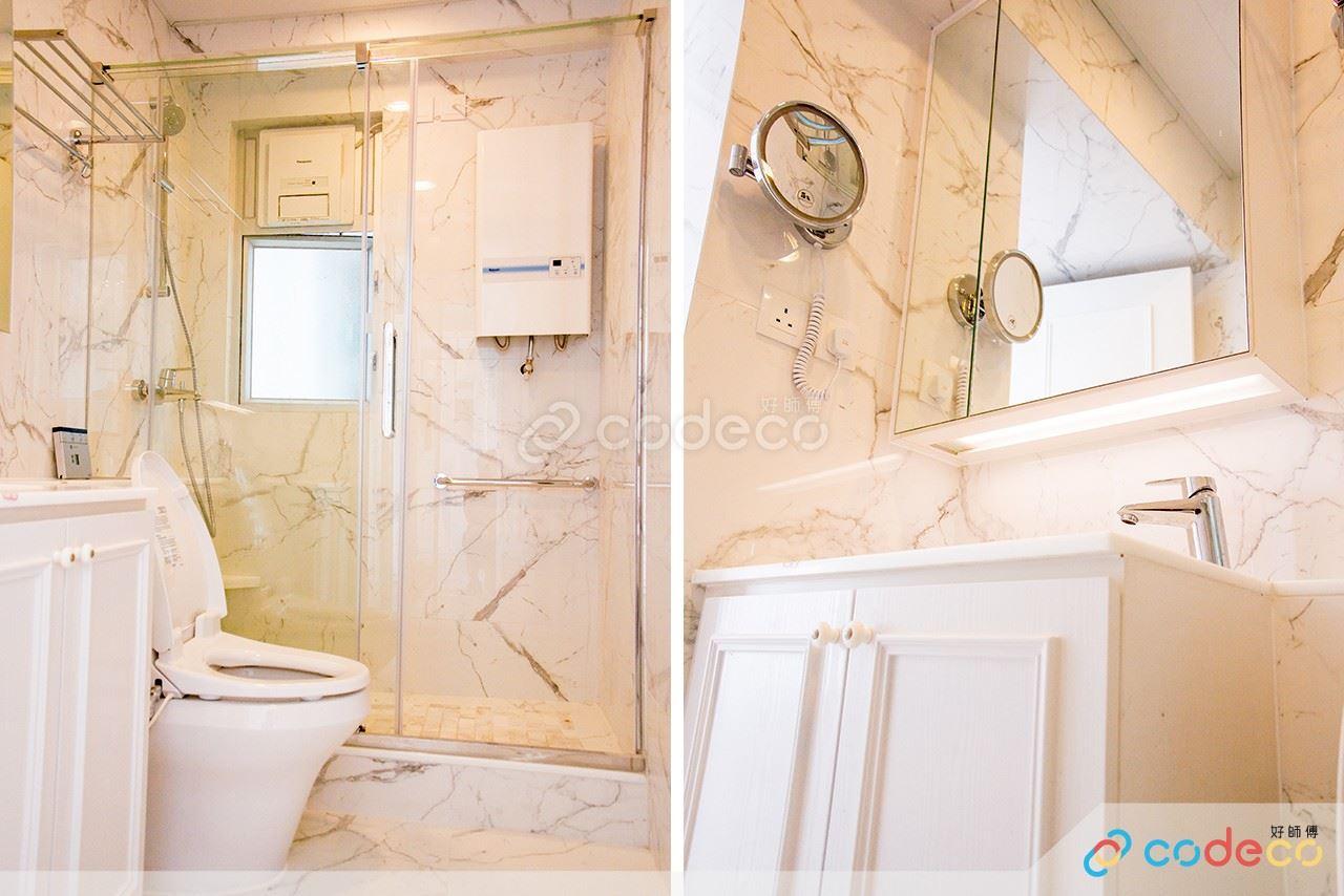邁亞美海灣浴室仿雲石磚案例