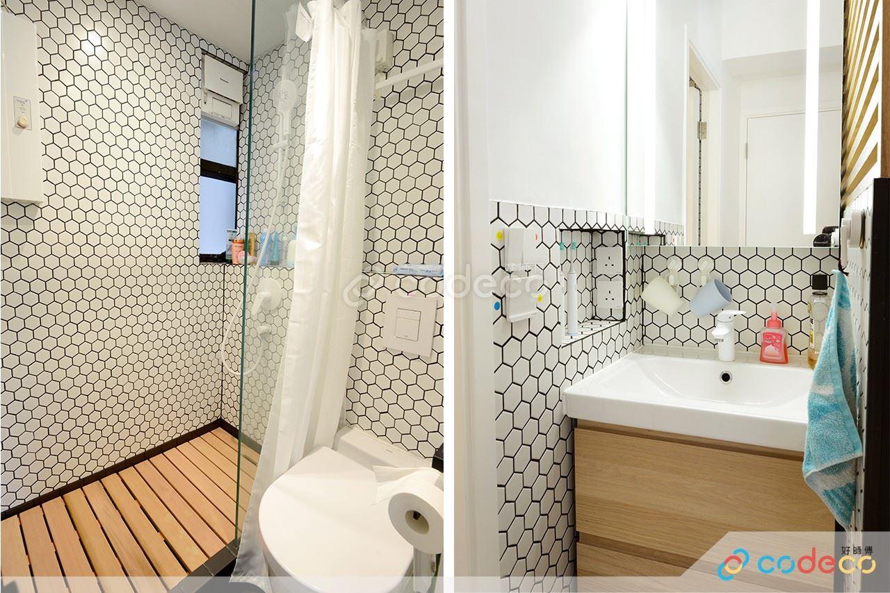 慧華閣浴室紙皮石馬賽克案例