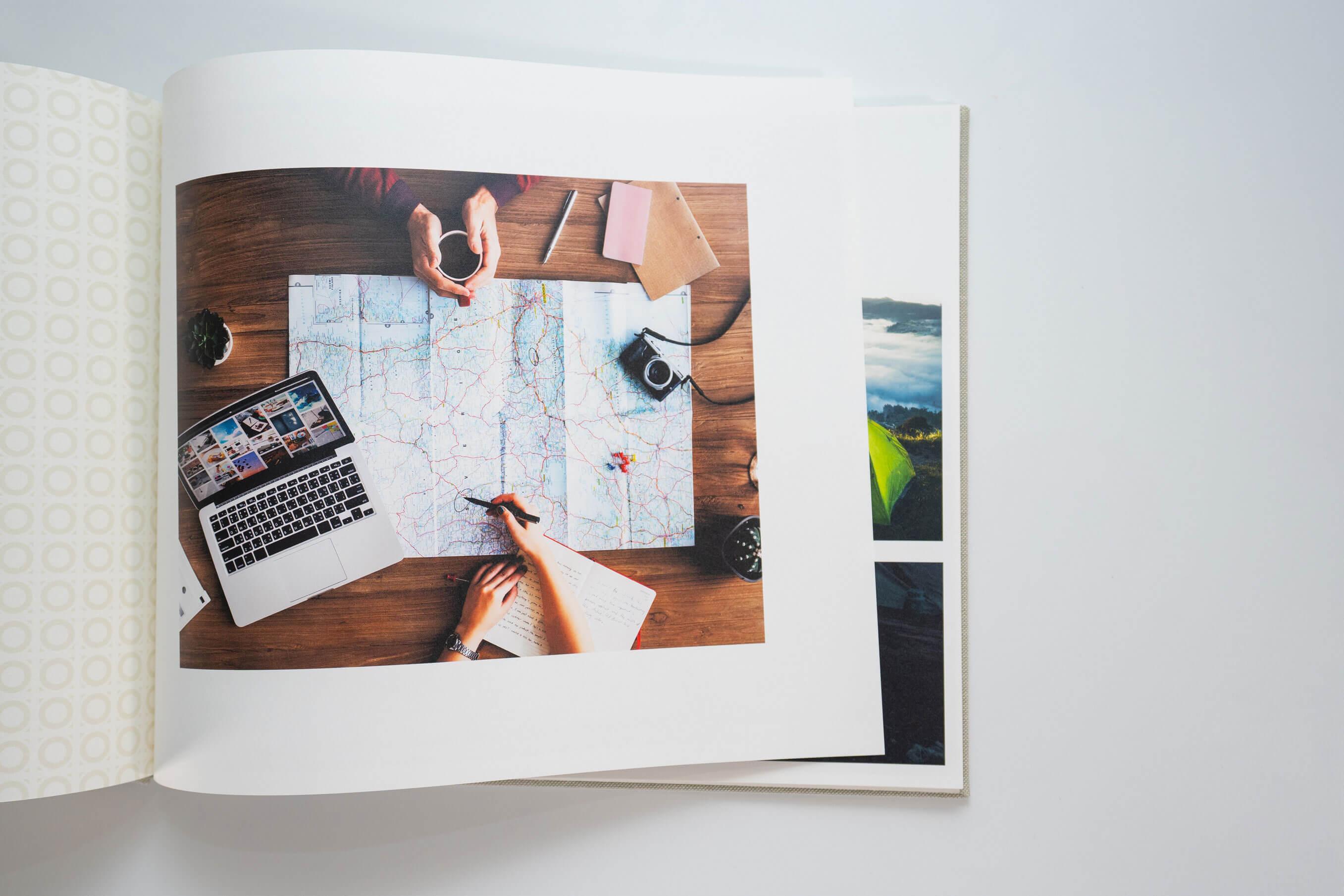EVOKE Photobook Handcrafted Photobook 5 - Travel Chronicles
