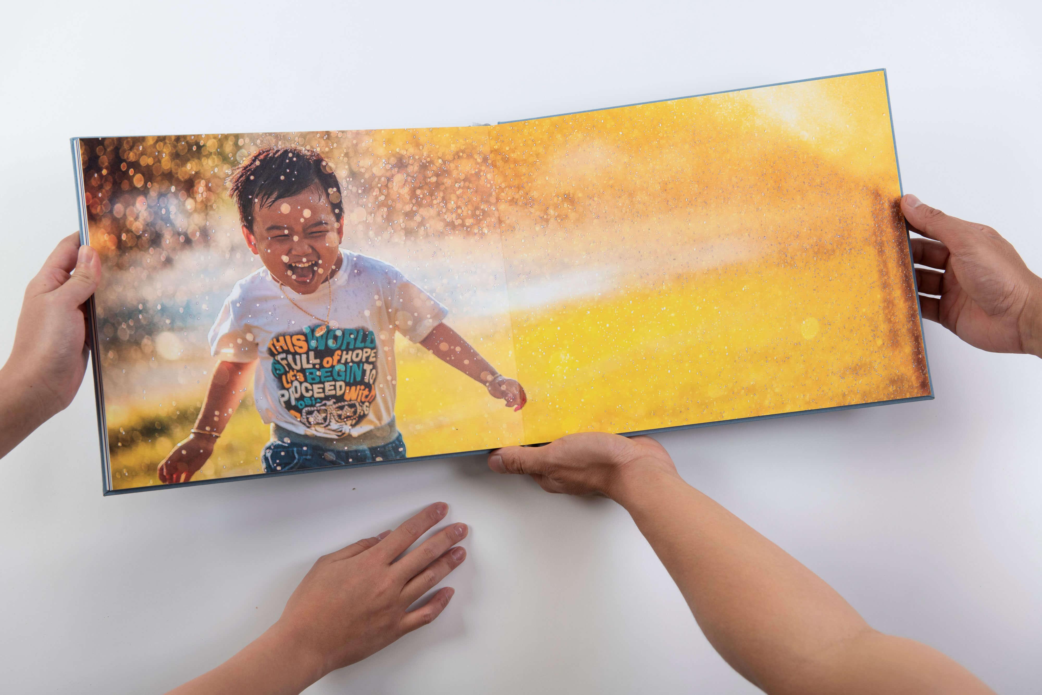 EVOKE Photobook Linen Album 6 - Our Story