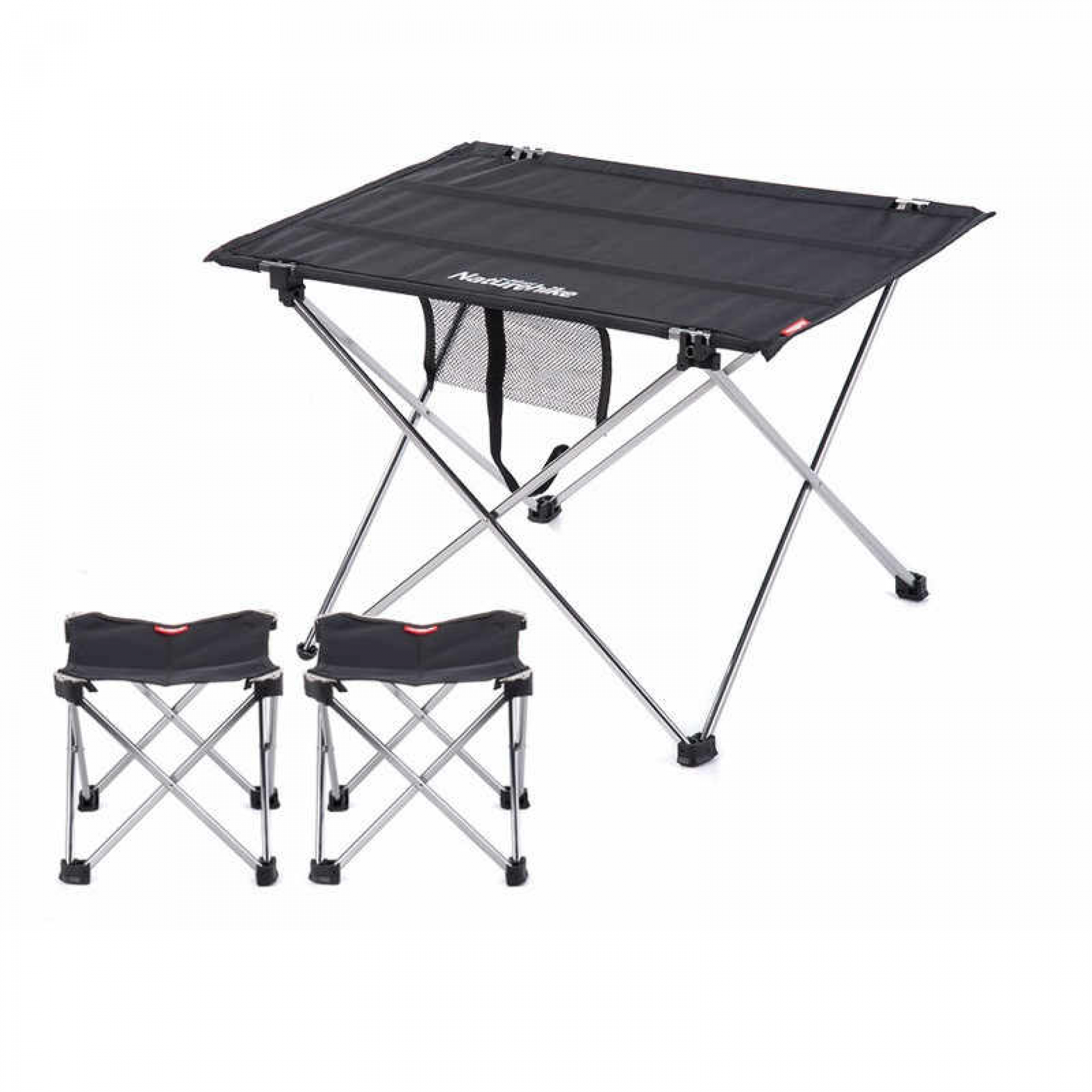 - Naturehike Aluminun Alloy Folding Table Chair Set - HyperAir