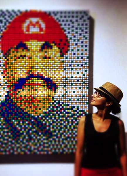 Get out of your confort zone and do it! Discover Mao Loves Art