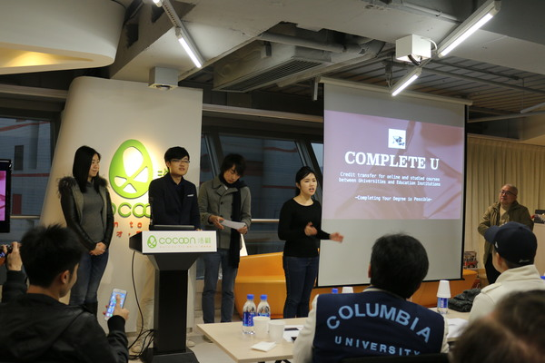 Startup Weekend alpha StartmeUp... and the winner is...