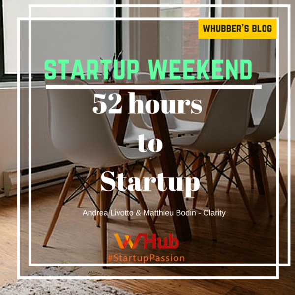 Startup Weekend - 52 hours to Startup