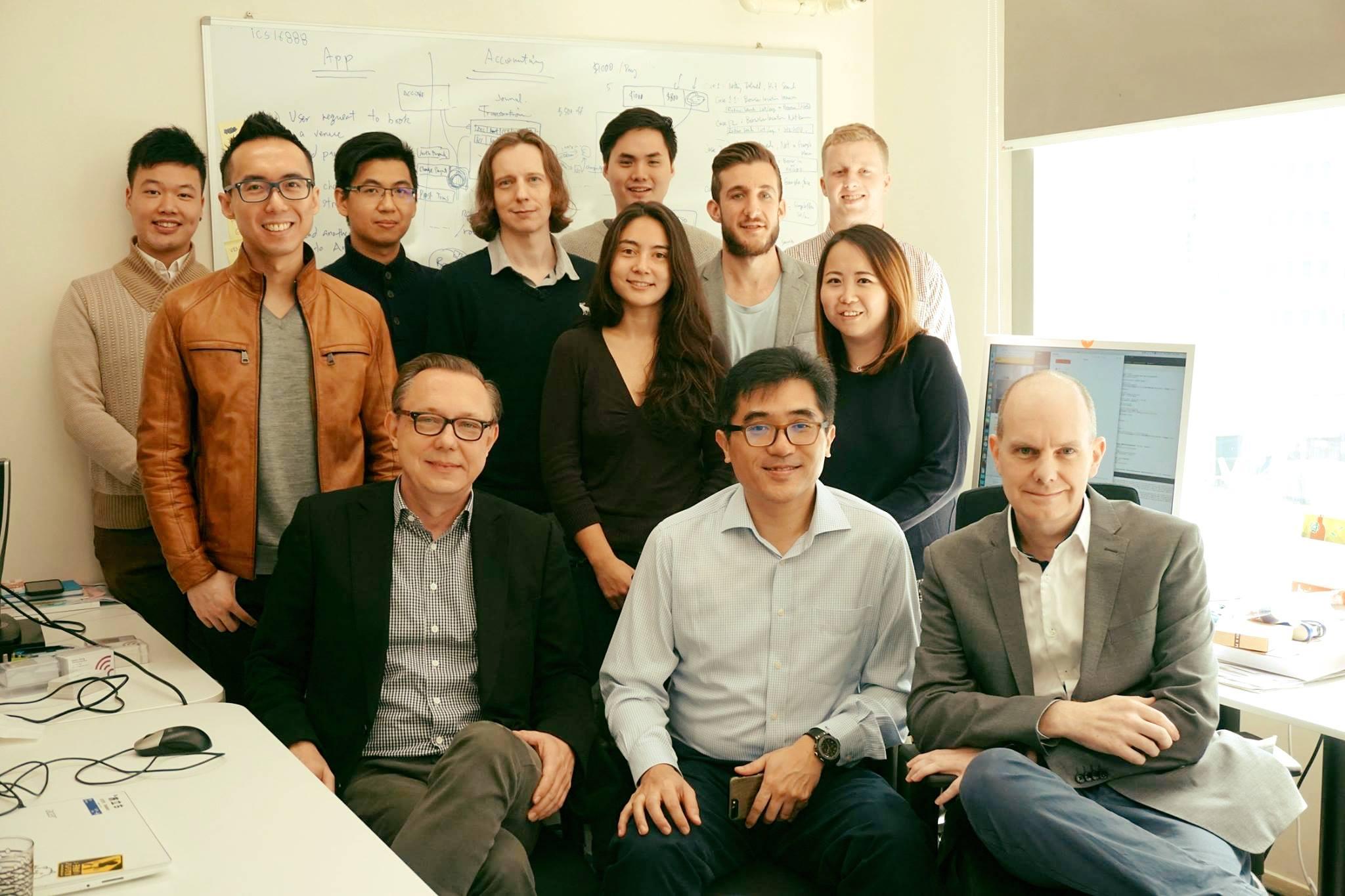 Quikspaces team photo