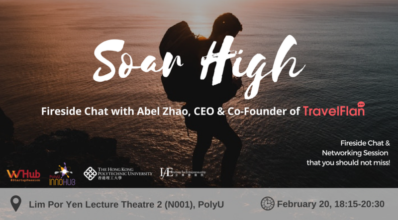Fireside chat with abel zhao travelflan banner