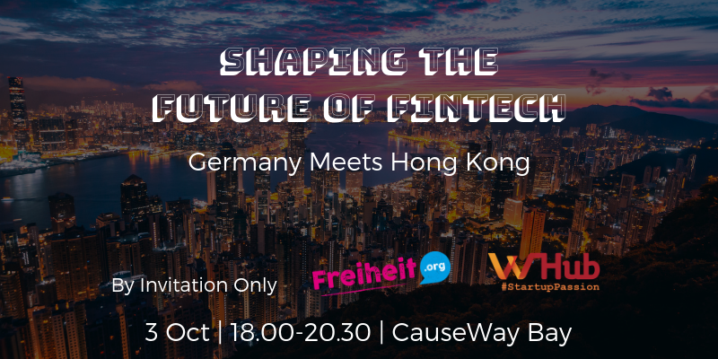 Shaping the future of fintech   germany meets hong kong