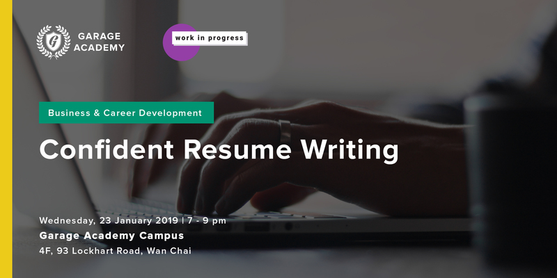 2  confident resume writing