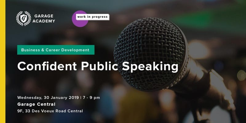 Confidence public speaking