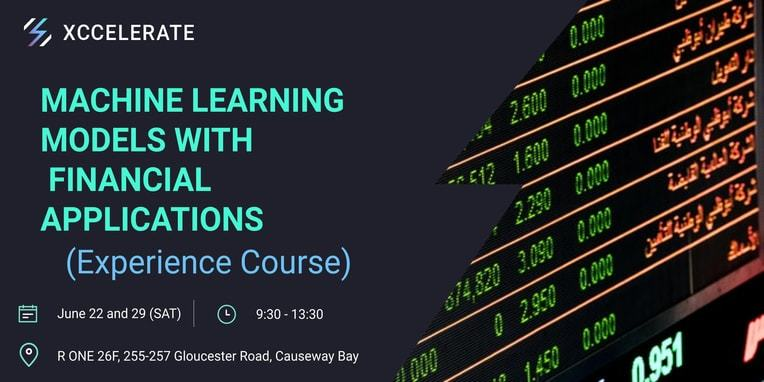 Machine learning models with    financial applications