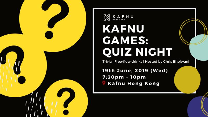 Kafnu games   quiz night  5