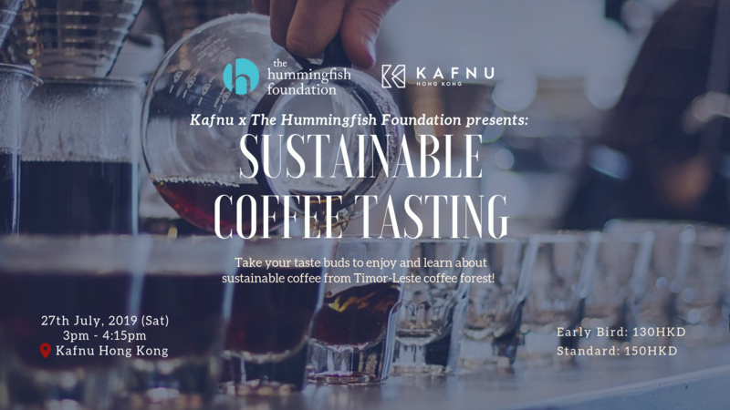 Thf sustainable coffee tasting