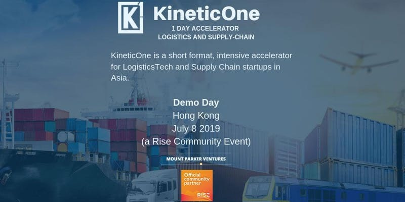 KineticOne - Asia's First 1-Day Accelerator for Logistics and Supply-Chain