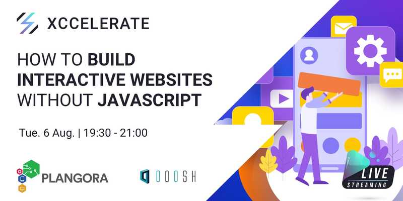 Interactive websites without javascript