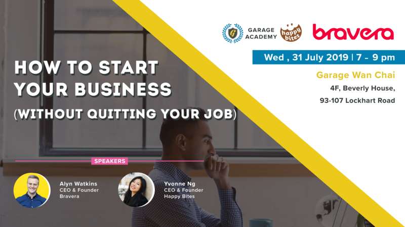 Start your business without quitting your job banner 03