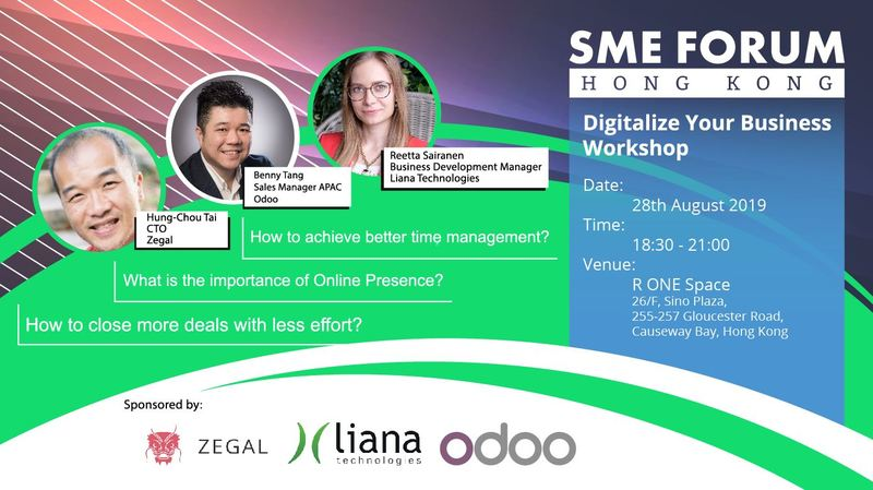 Sme forum digitialize your business
