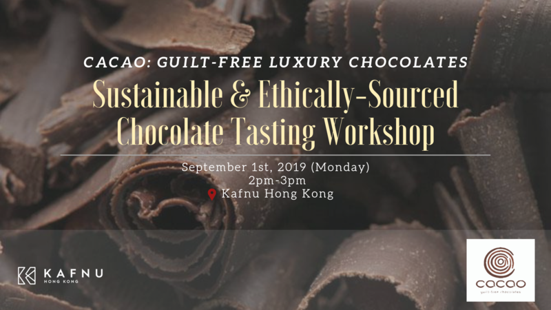 Sustainable   ethically sourced chocolate tasting workshop  2