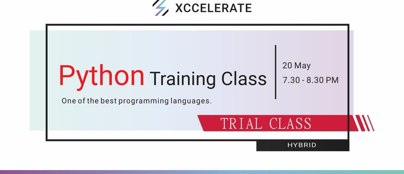 20may python trial class