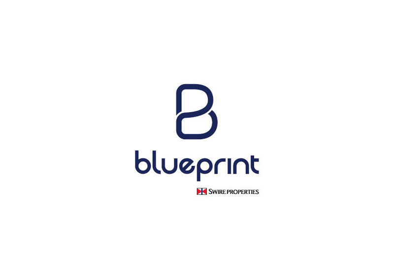 Blueprint swire  blue
