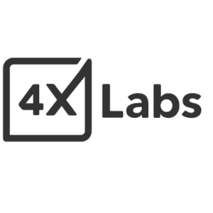 Large 4xlabs black square