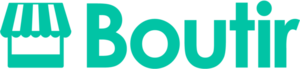 Large boutir logo green
