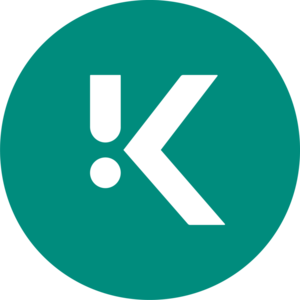 Large km on brand icon colour srgb