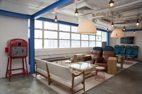 Blueprint lounge