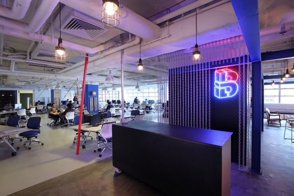 Blueprint coworking office design 7
