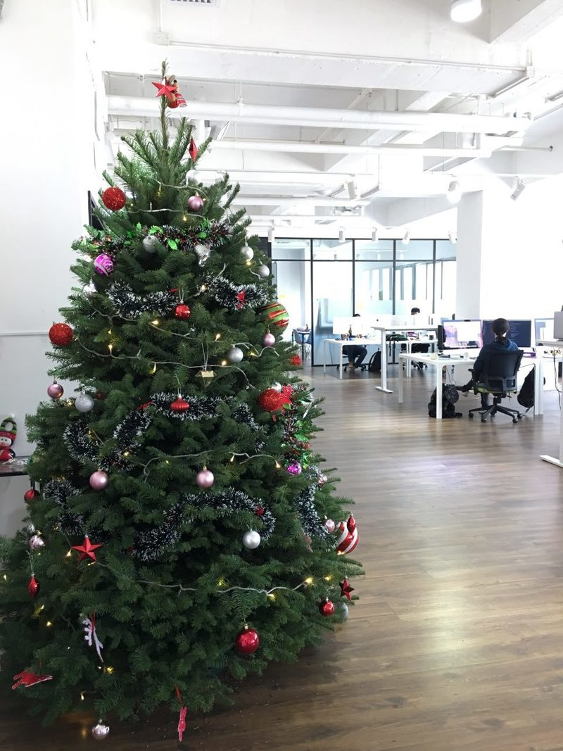 Aftership christmastree