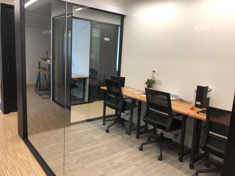 Internal view office