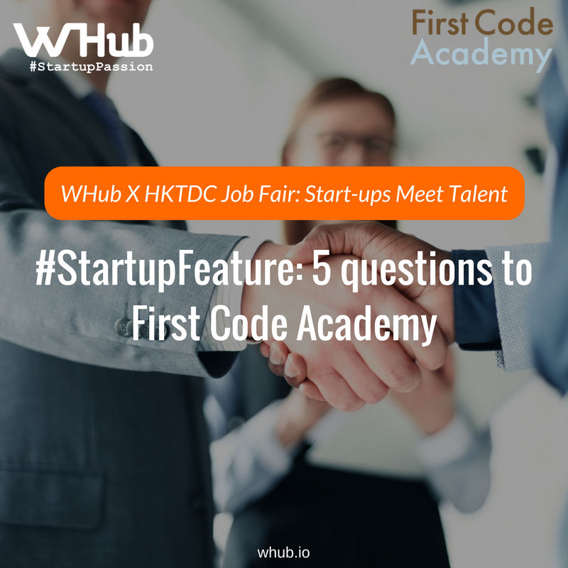 Whub x hktdc job fair  start ups meet talent