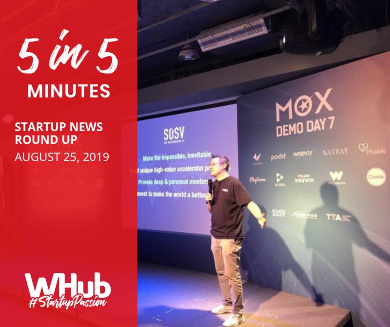 Startup news round up  1