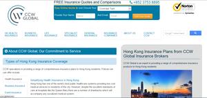 Ccw website screen shot