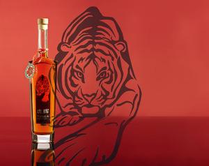 Motiv flasche tiger infusion 022