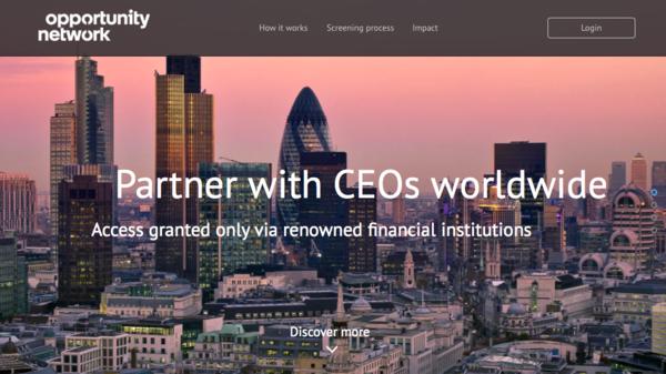 Screenshot homepage