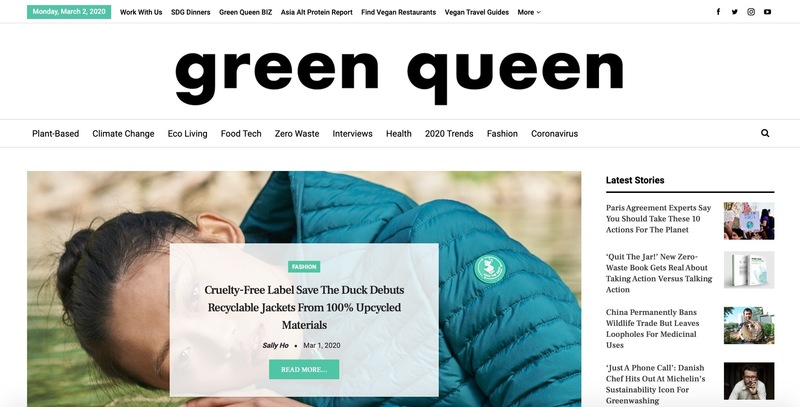 Green queen screen shot march 2020