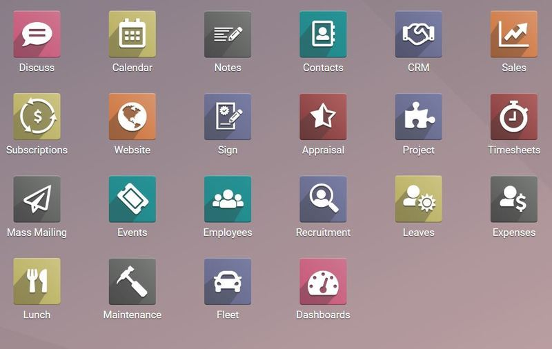 Odoo dashboard