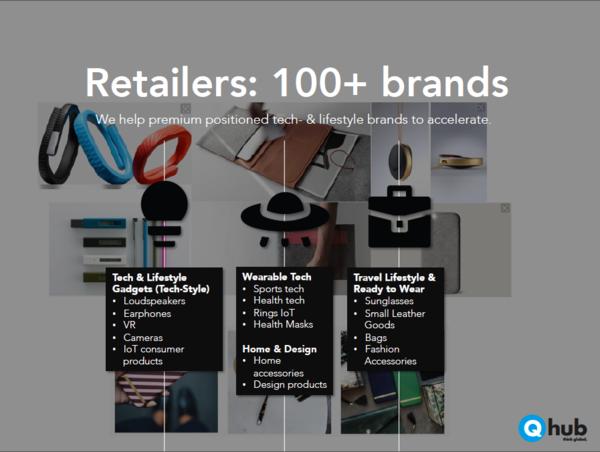 Q hub brands