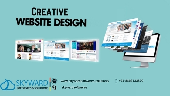 Best website design at skyward softwares