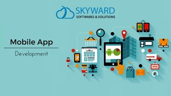 Mobile app development at skyward softwares