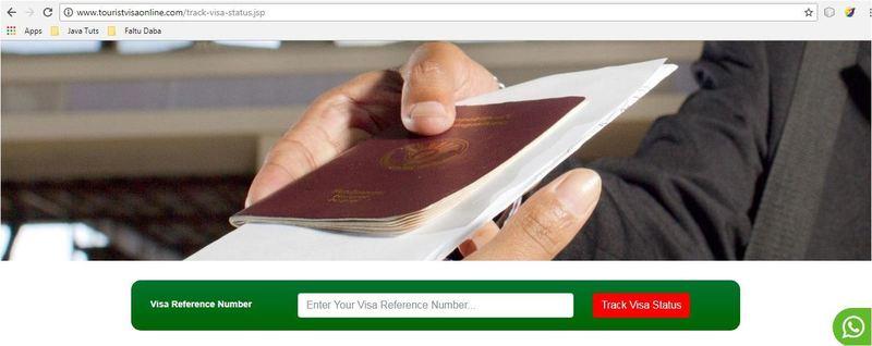 Track visa status