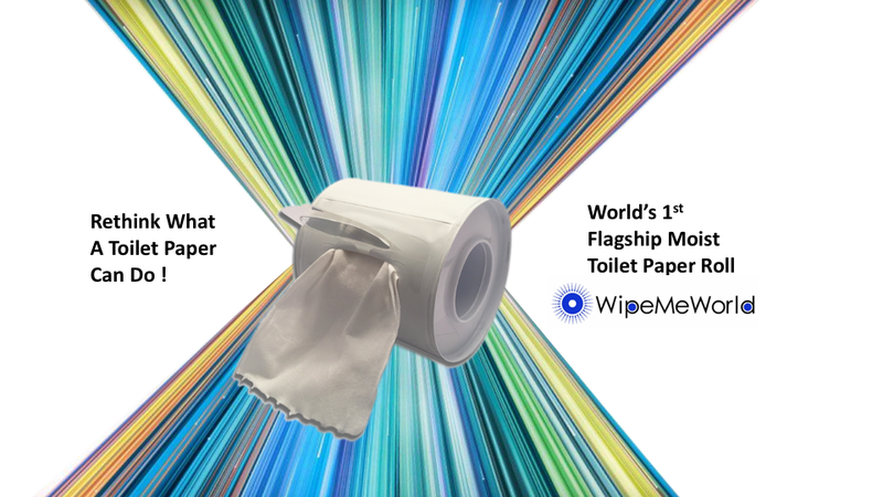 Flag 1st moist toilet paper