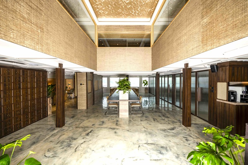The atrium banyan workspace