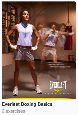 Everlast boxing workout image