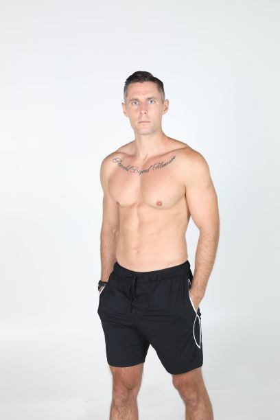 1z4a7584 black yoga workout shorts front compressed thumbnail