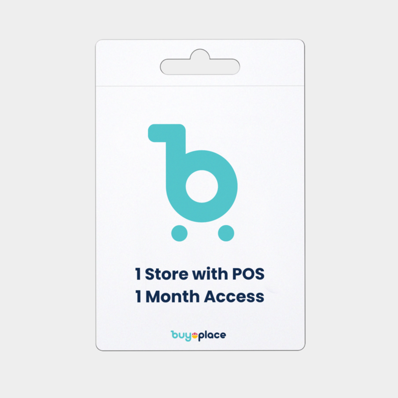 Store with pos 1 month access1